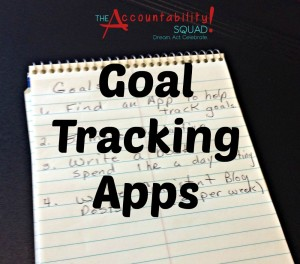 Goal Tracking Apps